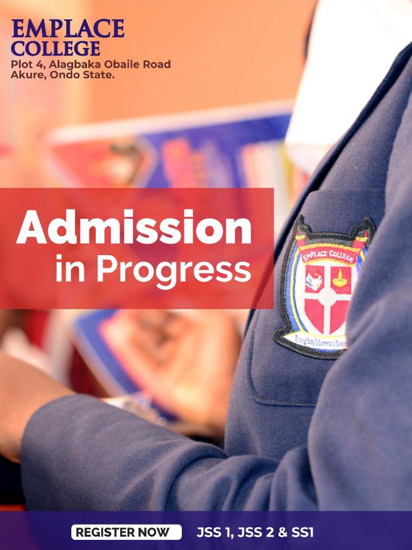 Admission in progress